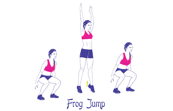 5 Amazing Benefits Of Frog Jumps Exercises