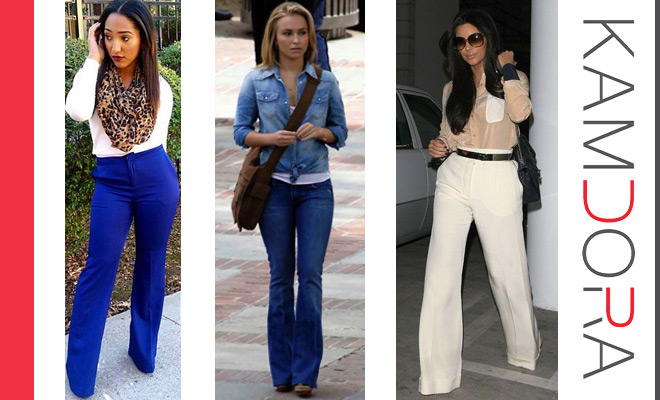 Trendy Now: The Boot Cut Pants