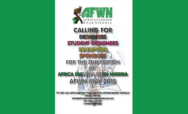 Africa Fashion Week Nigeria (AFWN) 2015