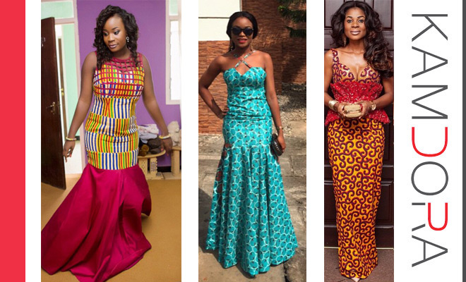 Ankara Lookbook 33 Long Gowns Kamdora