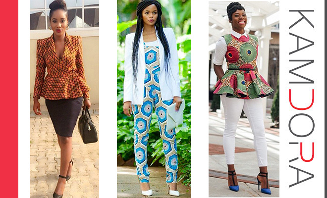 Ankara Styles For Work Kamdora