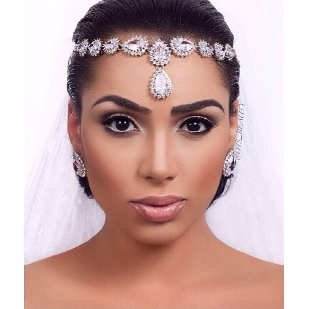 Wedding Headpieces With Forehead Jewelry: Bridal Inspiration: Bridal Head Pieces