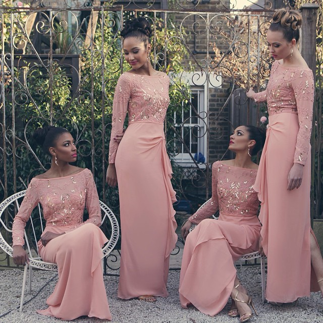 Bridal Inspiration: Bridesmaids Dresses | Kamdora