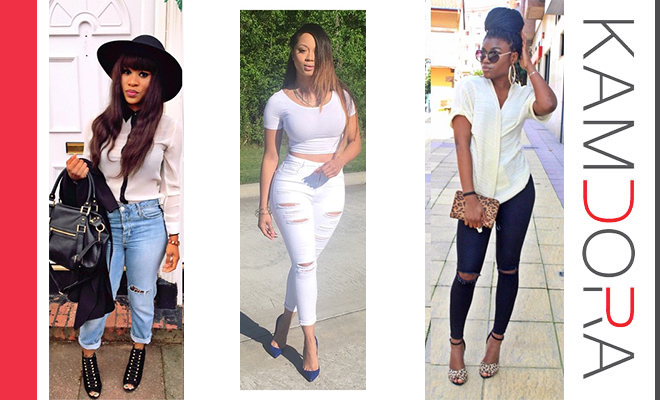 Classy Ways To Wear Ripped Jeans