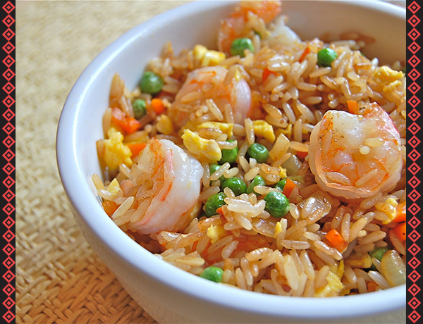 Easy Shrimp Fried Rice Recipe From Grand Pure Soya Oil