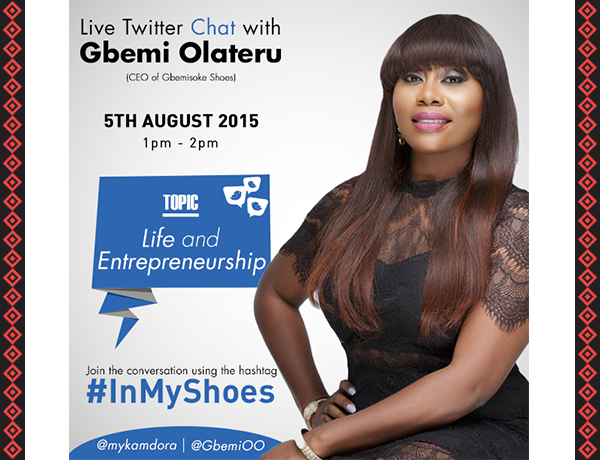 Kamdora's Live Twitter Chat With Gbemi O