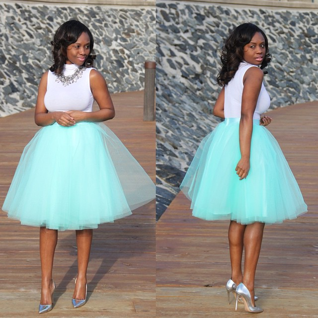 Image result for nigerian articles on tulle skirts