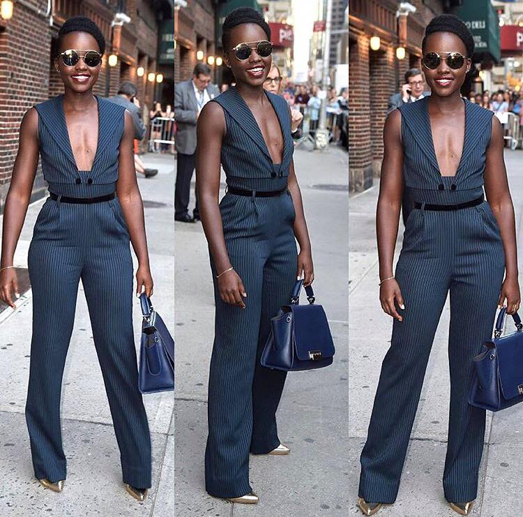 Look Of The Day Lupita Nyongo In Alessandra Rich Kamdora
