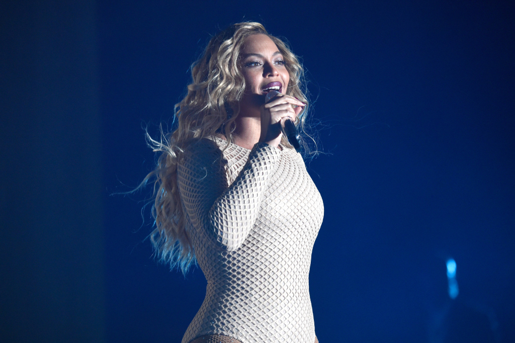 The Queen Bee at the Global Citizen Festival