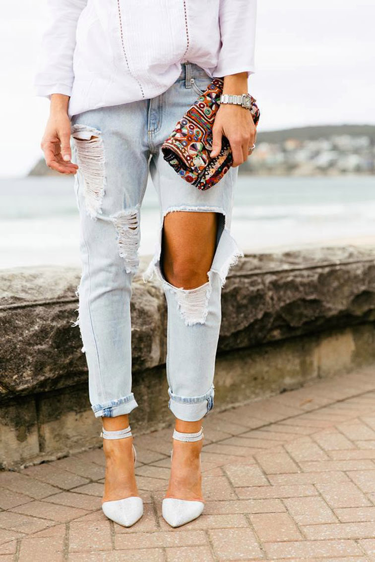 This Is How to Rip Your Jeans Like a Fashion Pro
