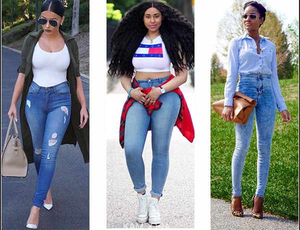 How To Rock Your High Waisted Jeans Kamdora