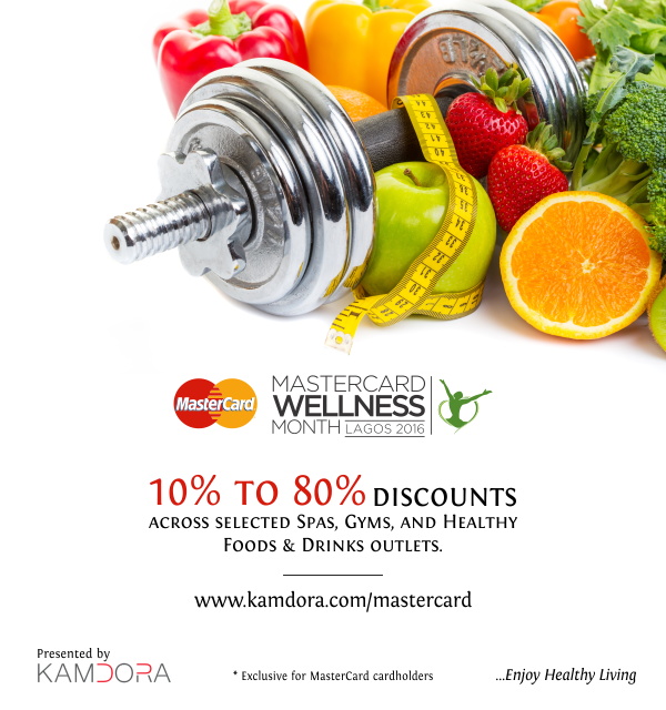 MasterCard Wellness Month with Kamdora