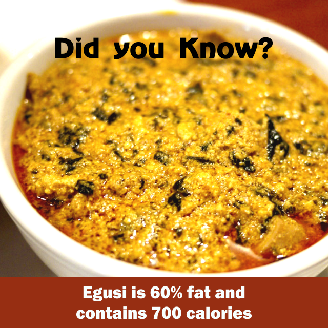 Did You Know: The Real Fat Content of Nigerian Meals?