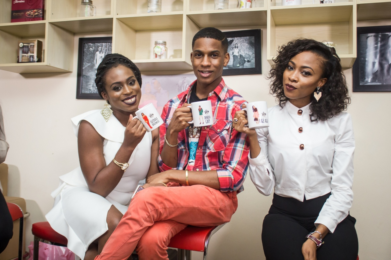 Oge Agu, Zina Anumudu & Denola Grey – 3 Bloggers 1 Night in Lagos