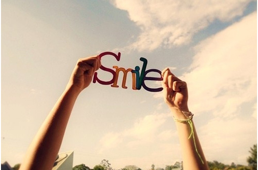 put a smile on