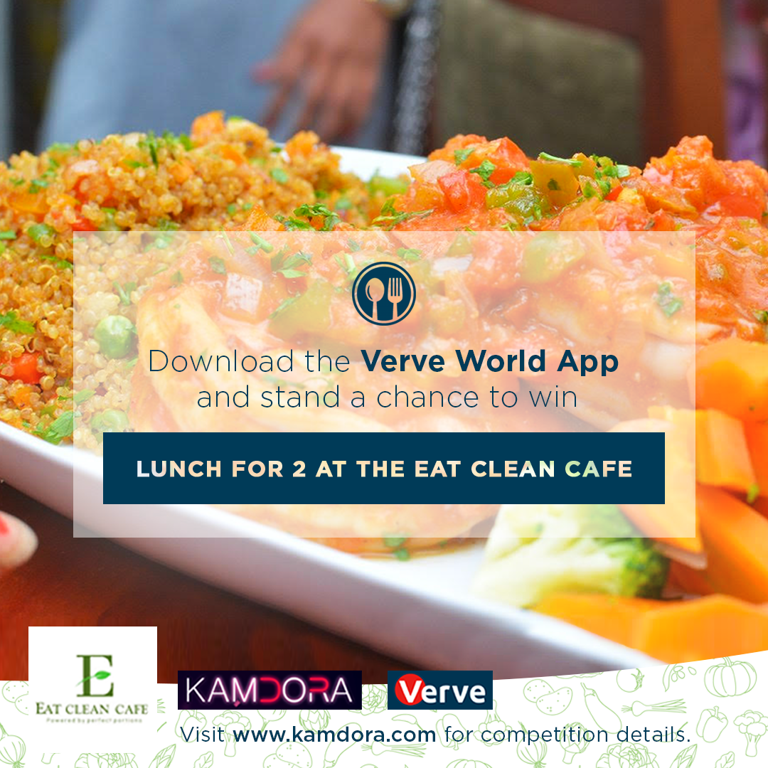 The Verve Giveaway: Win a Lunch For 2 At the Eat Clean Cafe