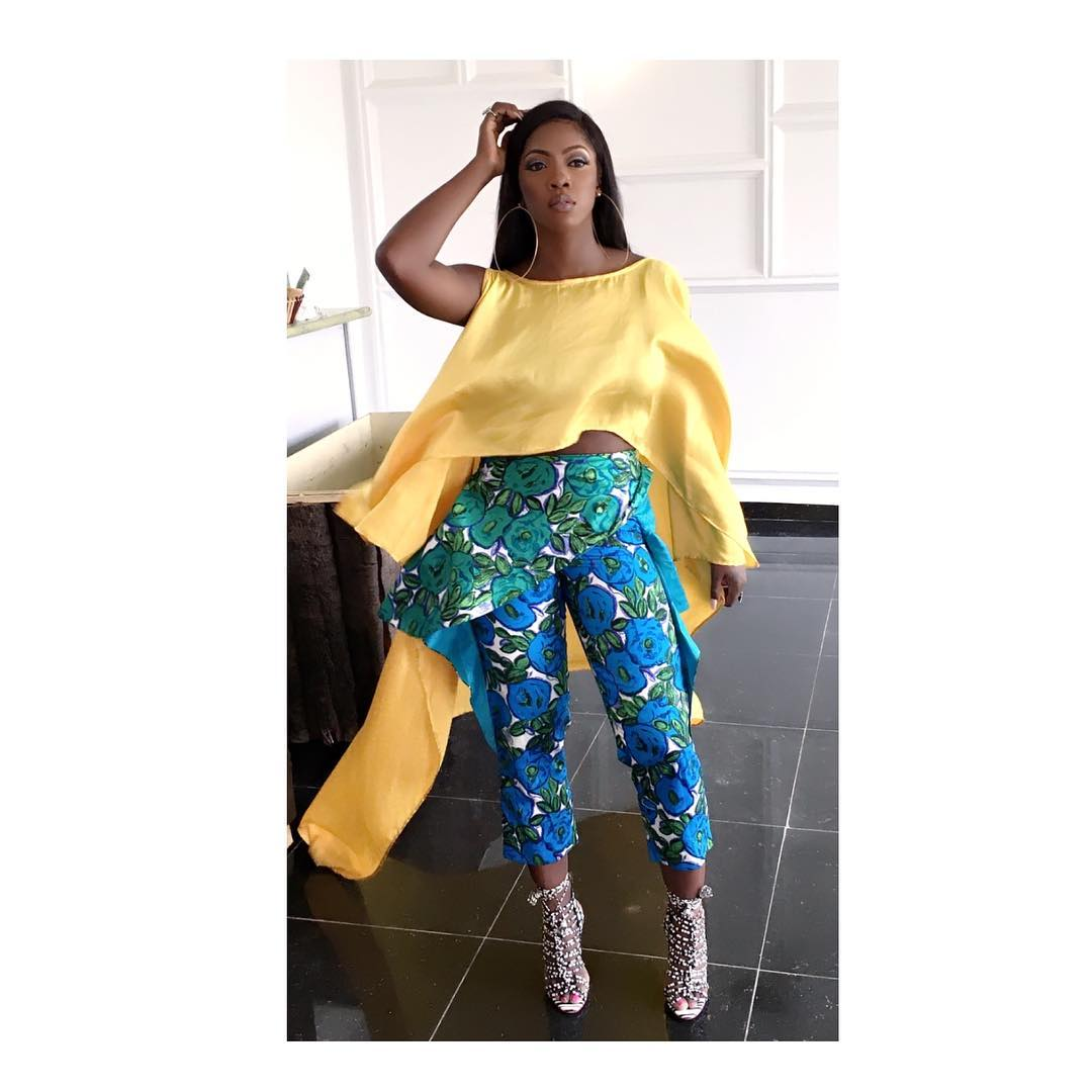 Tiwa Savage Is Back! Photos On Set Of New Video With Wizkid