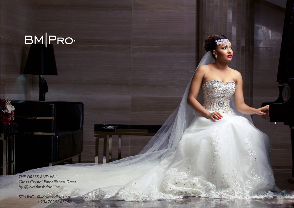 Queen Mother! Anna Banner Is A Beautiful Bride for BM Pro Covers