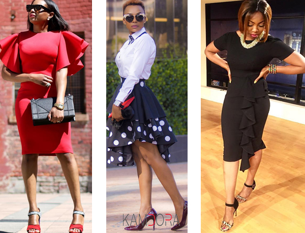 Fashion & Style: Work With The Ruffles!