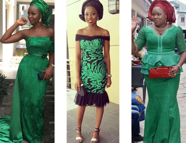 Asoebi Styles 89 Green With Pride Kamdora