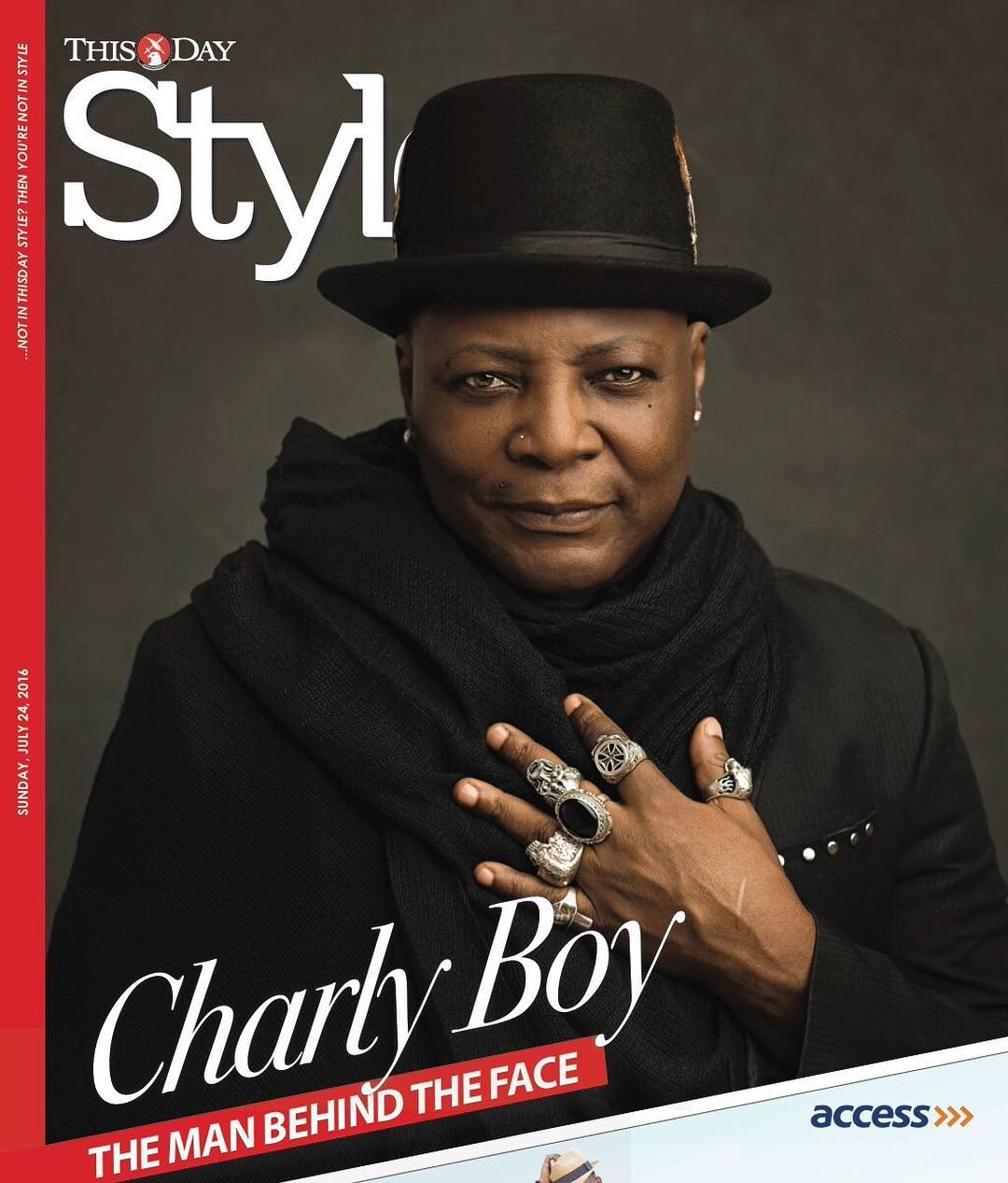 Charly Boy Covers This Week's Issue of ThisDay Style ...