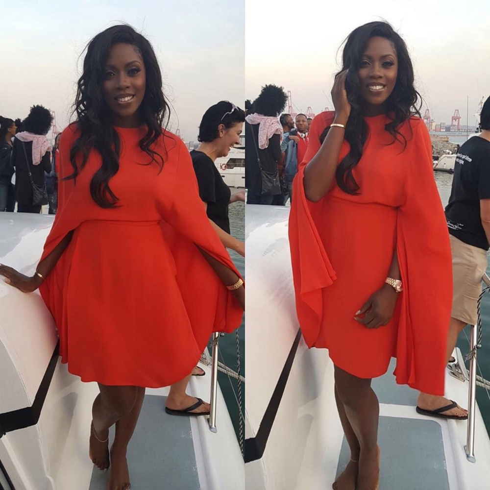 See Tiwa Savage's Looks From Her Visit to Durban