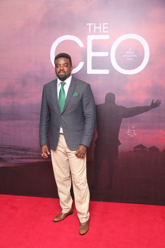Red Carpet Moments at Kunle Afolayan's The CEO Grand Movie Premiere (Photos)