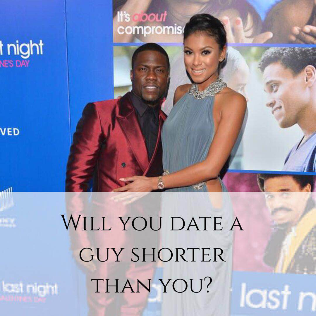 dating a guy slightly shorter than you Home blog  dating  are height requirements still keeping you from  opportunity to date a guy who is shorter than you  slightly overweight, mind you.