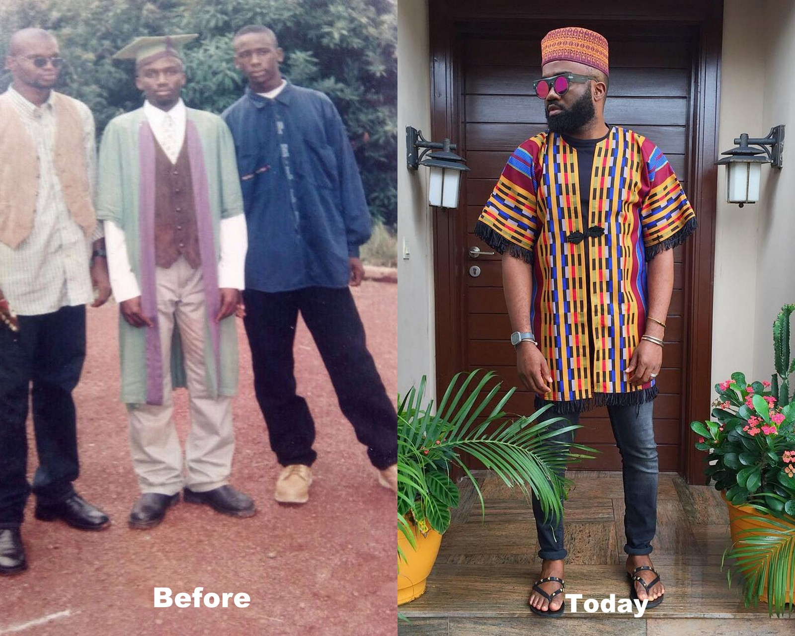 #ThrowbackThursday: You Wouldn't Believe This is Actually Noble Igwe!