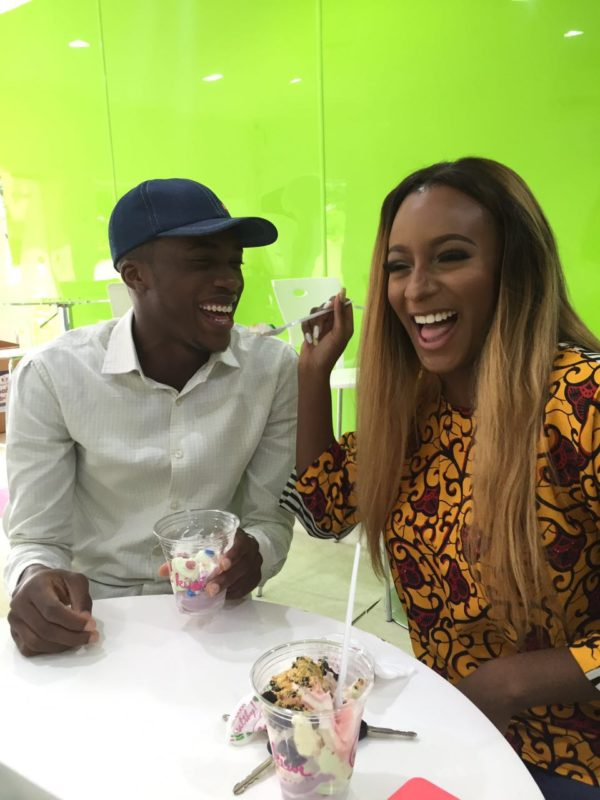 Fan Asks DJ Cuppy For a Date And He Sure Did Get It! [Photos]