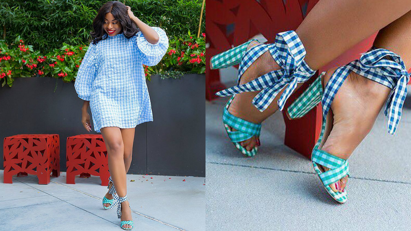 LOTD: Stella Uzo (Jadorefashion) Slaying In Gingham