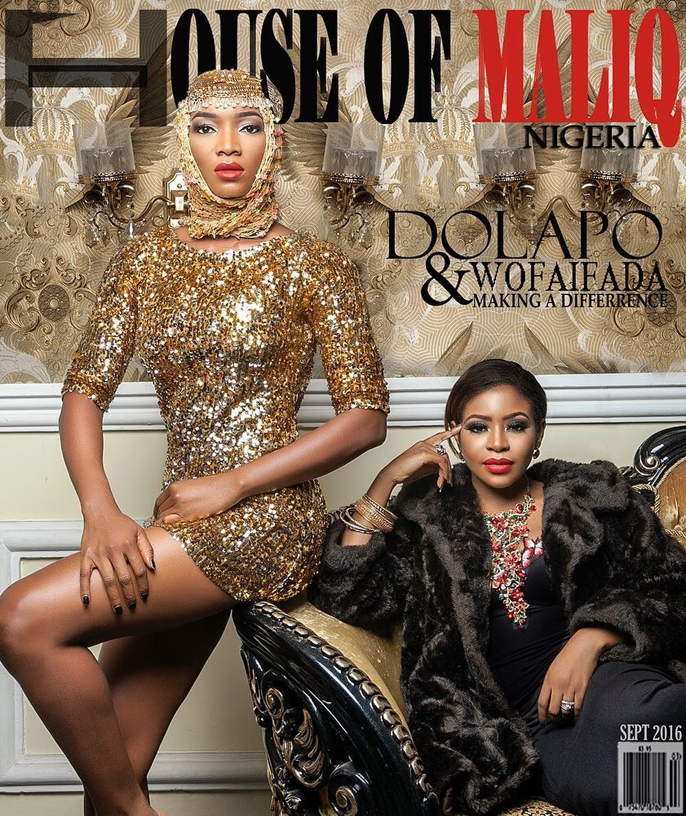 Dolapo Sijuwade, Wofaifada and Dr Sandra Nwugo for House of Maliq's September Issue's Cover