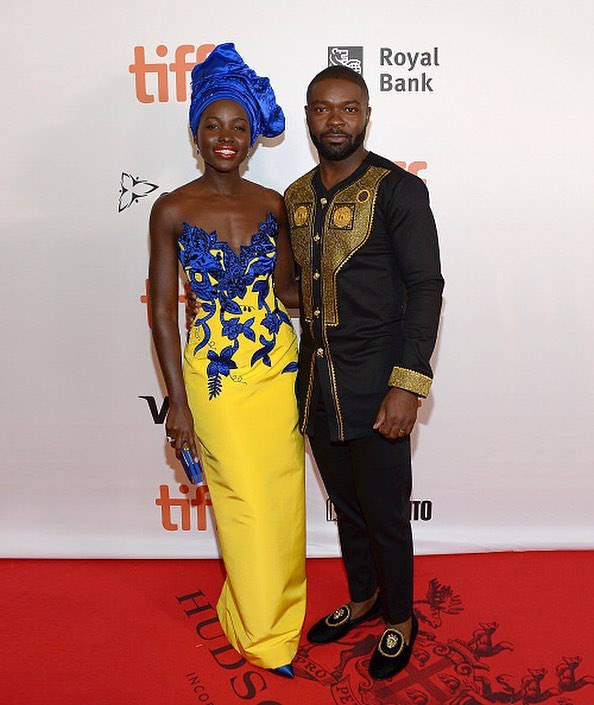 Lupita Nyong'O and David Oyelowo Stun on the Red Carpet as They go Traditional at Movie Premiere
