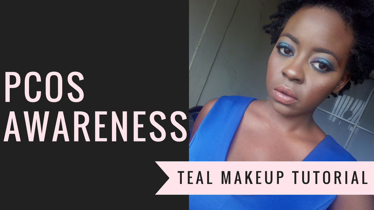 OmogeMuRa: PCOS Awareness + Teal Makeup Look Tutorial