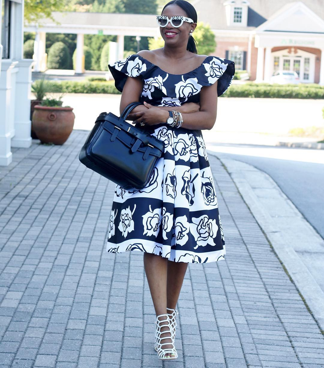 Lagos Mums: Flared Dresses are A Must Have | Kamdora