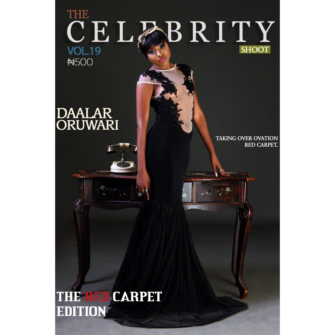 Hot Shot! Ycee And Daalar Oruwari Cover The Latest Edition Of Celebrity Shoot Magazine!