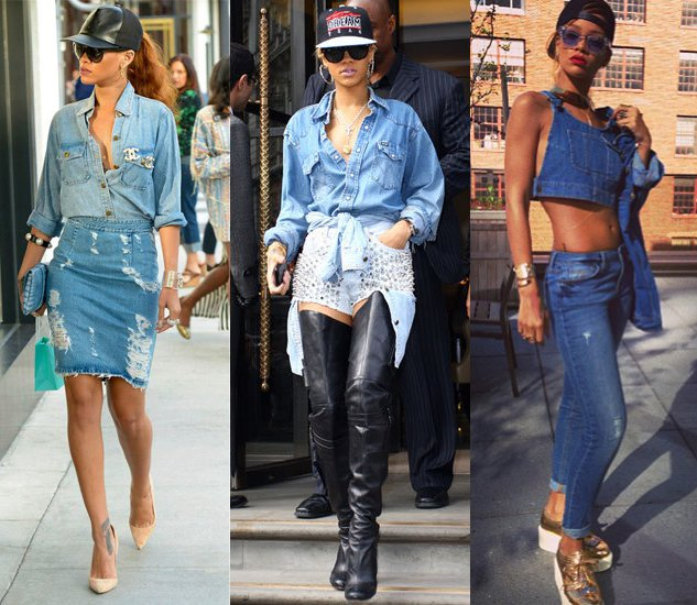 The Double Denim Is Forever Trending