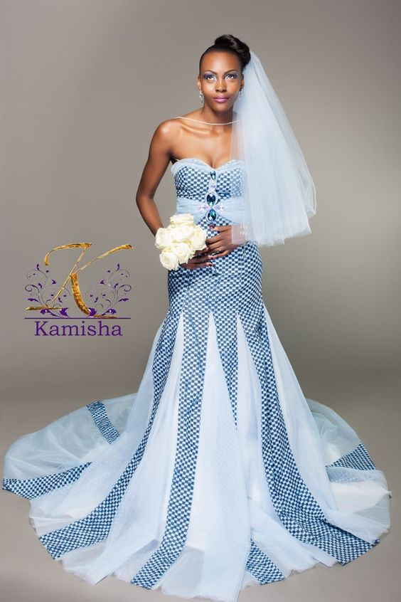 Ankara Inspired Wedding Dresses for Your Nigerian Wedding | Kamdora