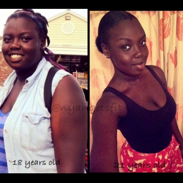 Christmas Weight Loss Inspo: Nyanewel 'Nyang' Gets Fit!