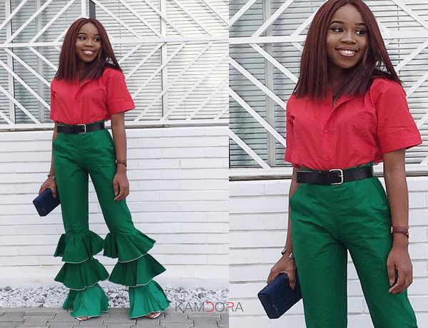LOTD: Grace Alex In A Christmas Inspired Outfit