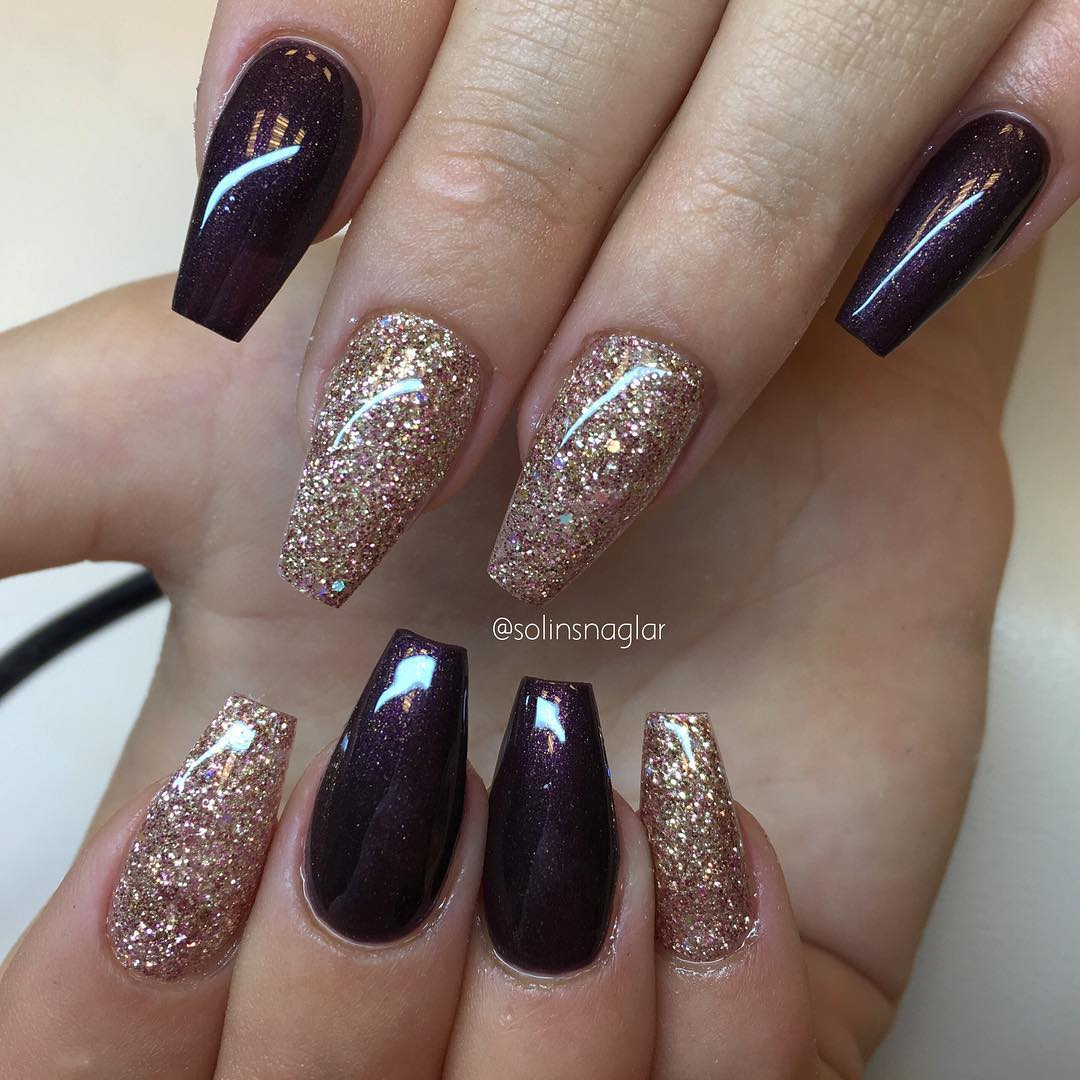 7 Sparkling Nail Art Inspiration For The Weekend Kamdora