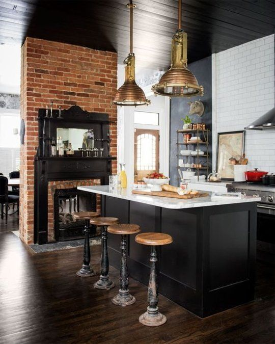 Incredible Kitchen Remodeling Ideas: 11 Incredible Black & White Kitchen Decoration Ideas