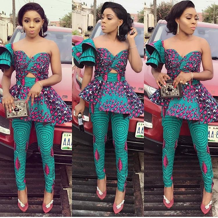 New Ankara Styles Siks Nd Tops: My Top Ankara Styles For The Week!