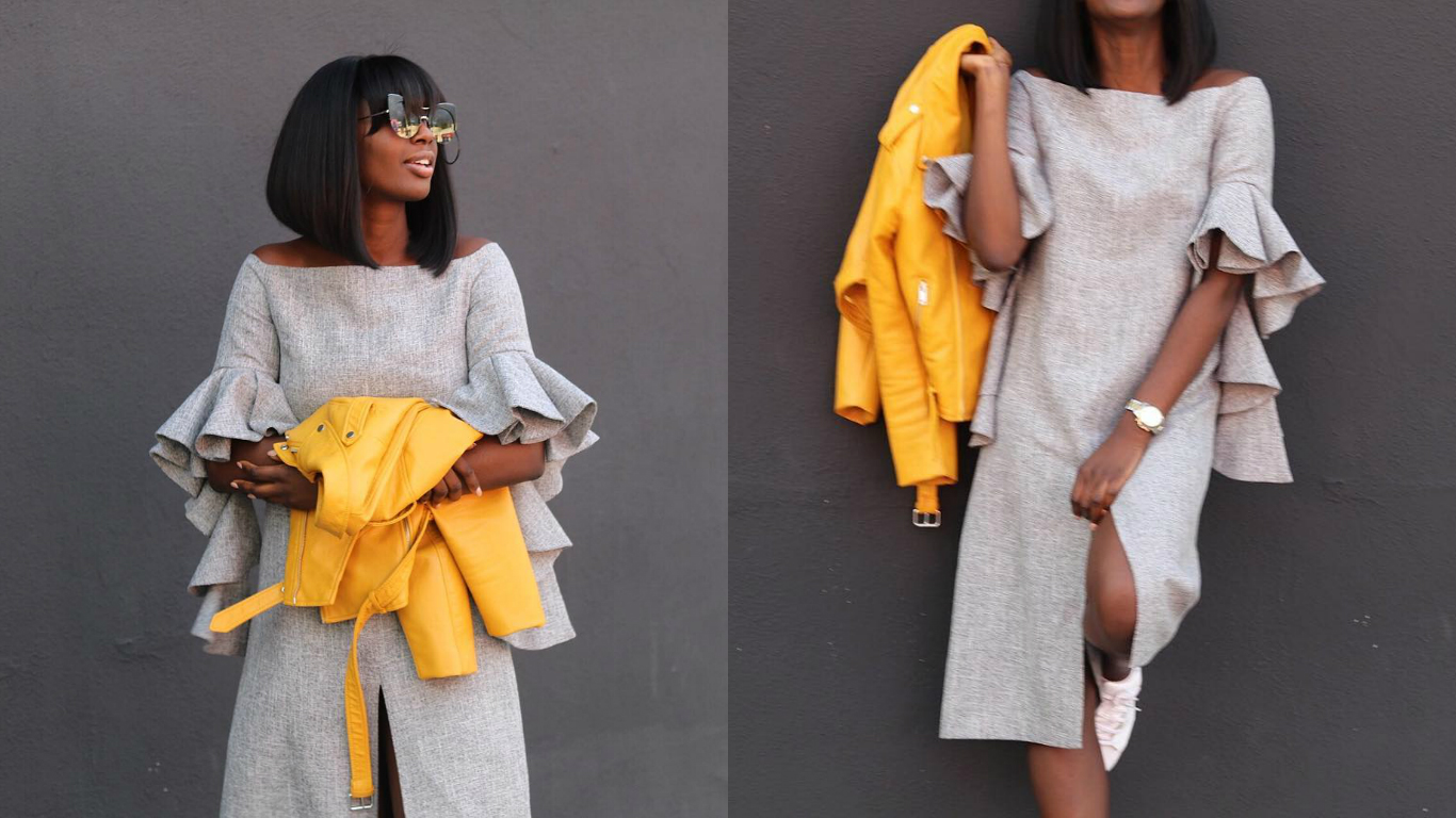 Look Of The Day: The Perfect Way To Wear Bold Colours & Statement Sleeves