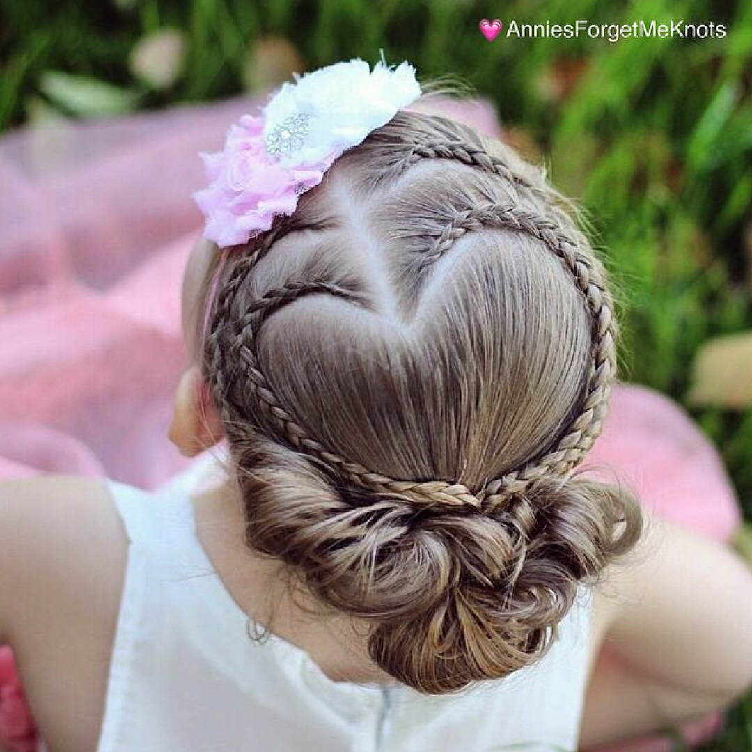 17 Heart Shaped Romantic Hairstyles For Your Nigerian Wedding!