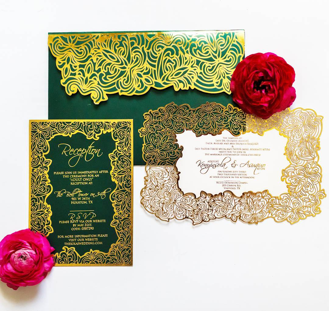 Wedding Ideas With A Difference: Wedding Stationery With A Difference / Parchment By Dami