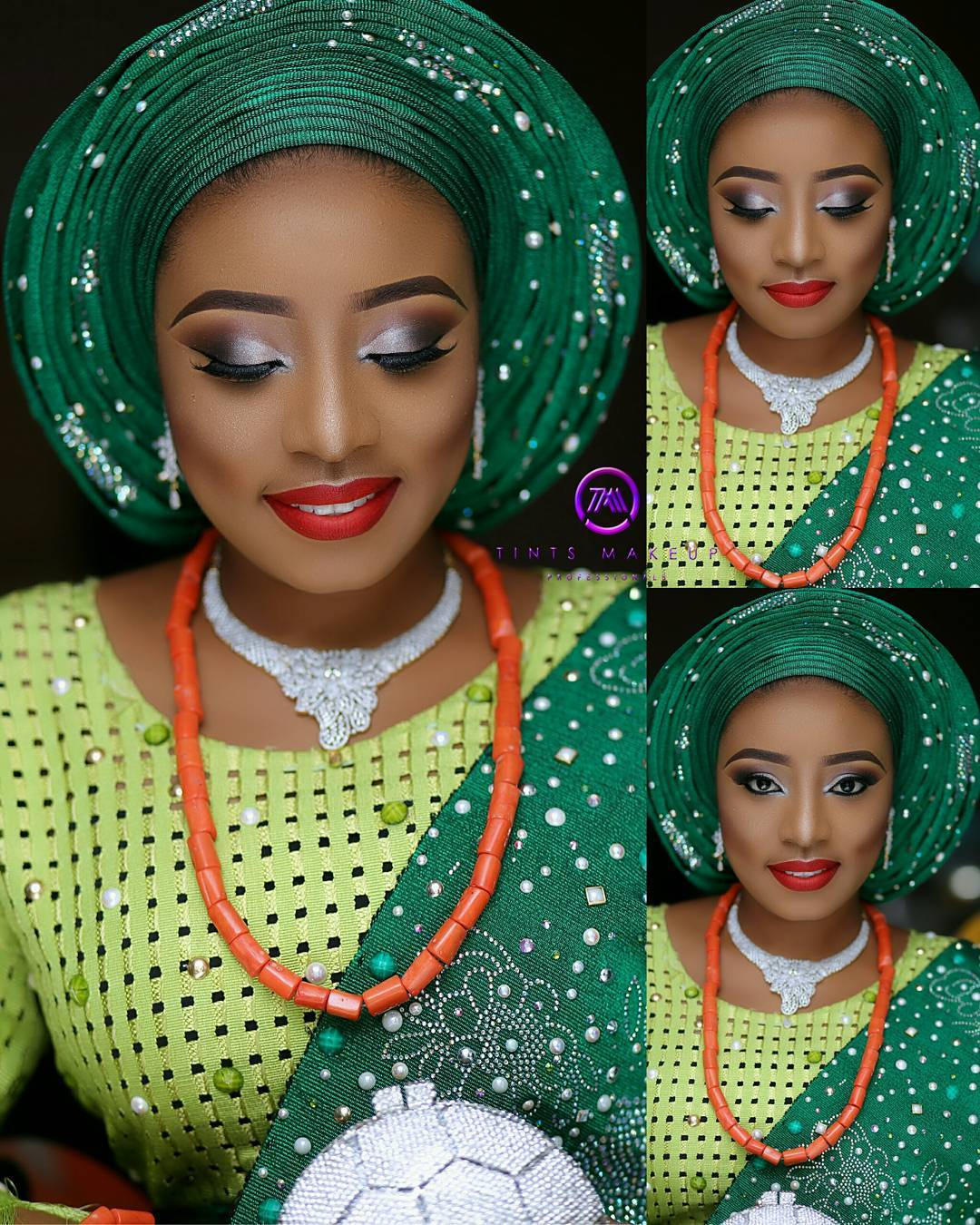 Wedding Glam: Dr Abiola Makes Us Green With Envy In Her