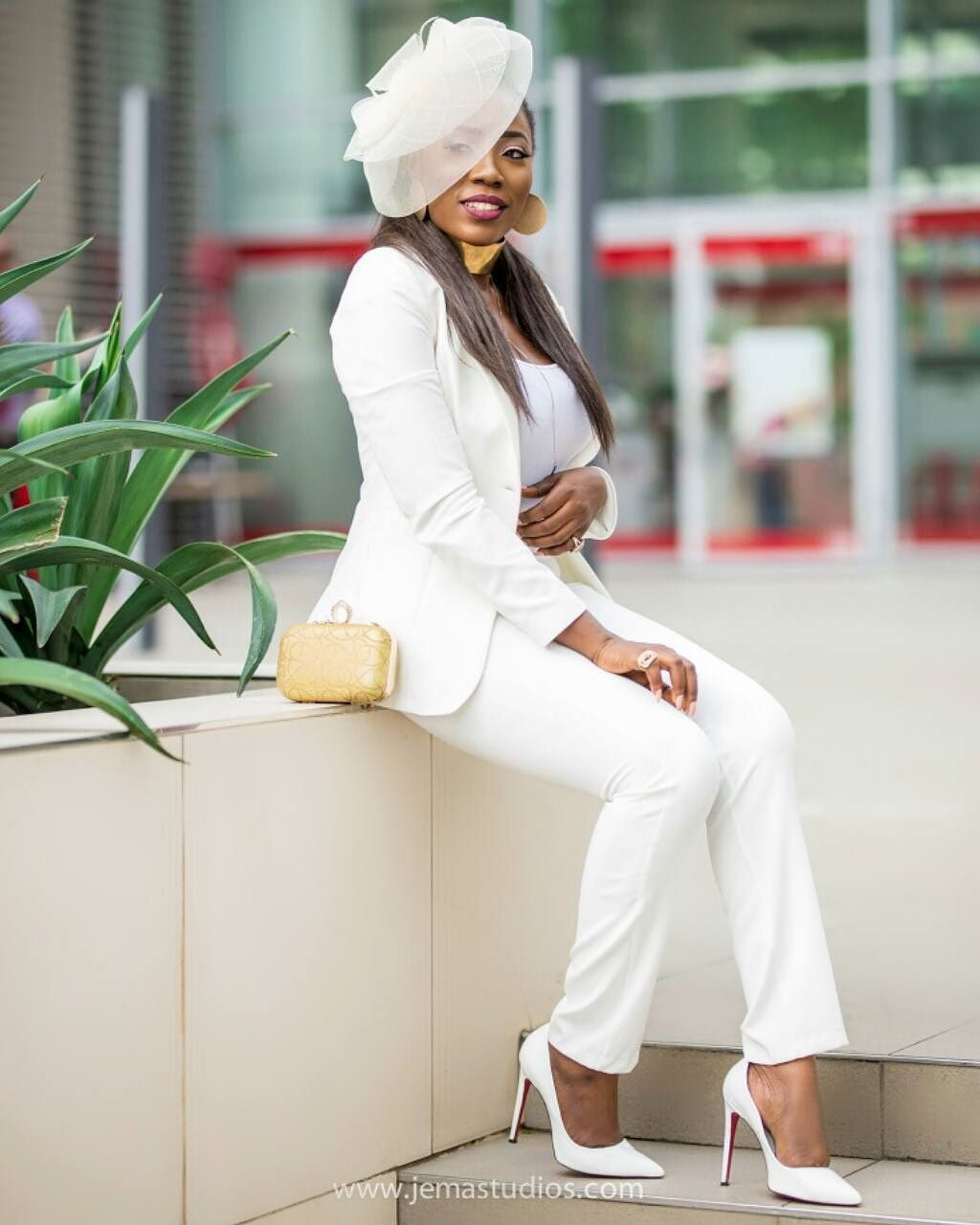 All White Wedding: Wedding Glam: All White Wedding Guest Outfit Inspo On