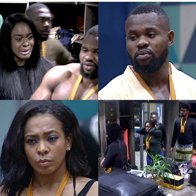 Find Out The Shocking Reason That Kemen Got Disqualified From The BBNaija House! Happening Right Now!