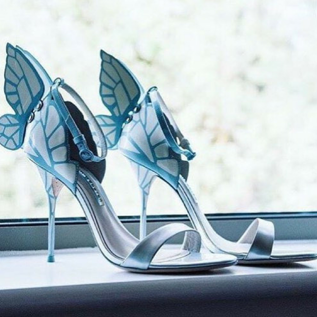 "Let Your Feet Do The Talking In Sophia Webster ""WifeyForLifey"" Bridal Shoe Collection!"